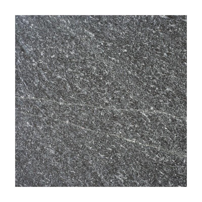 Křemenec - Quartzite, černý, opalovaný